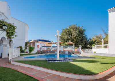 Our lovely terrace house Casa Solbritt lies in the calm and well-run association Bajamar 2 in Nerja's best area, Parador