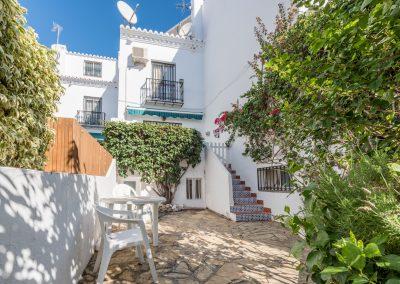 Our lovely terrace house Casa Solbritt with garden