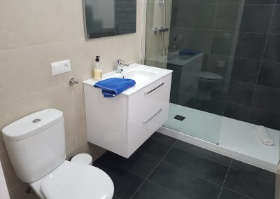 Newly renovated bathroom (April 2018) on second floor